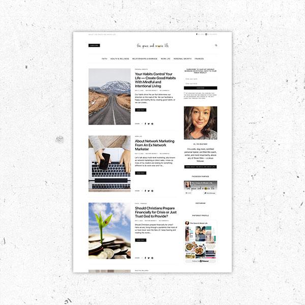 blog design service