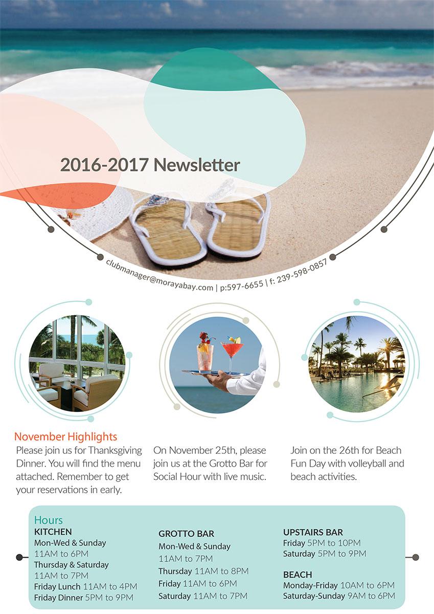 newsletter designer naples