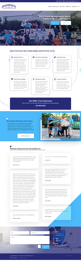 Naples florida website design