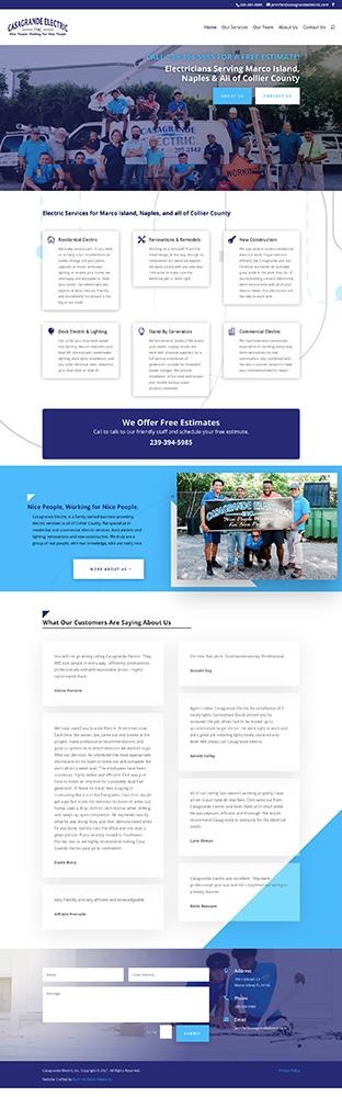 Naples florida website design