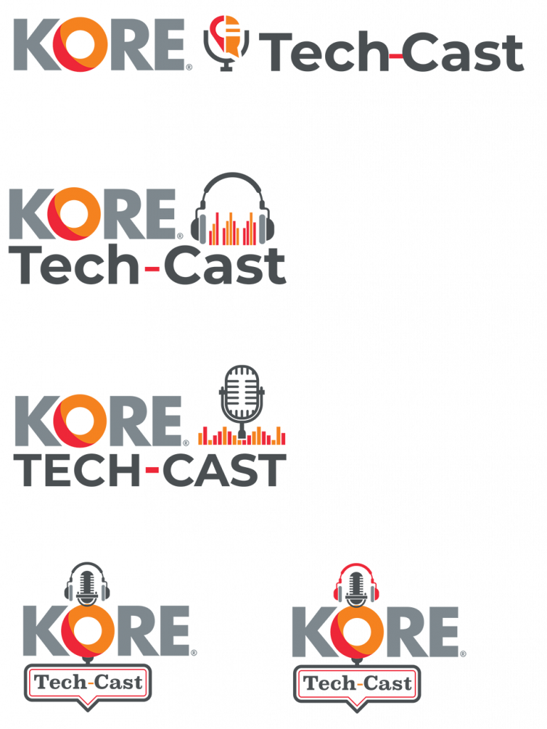 podcast logo design