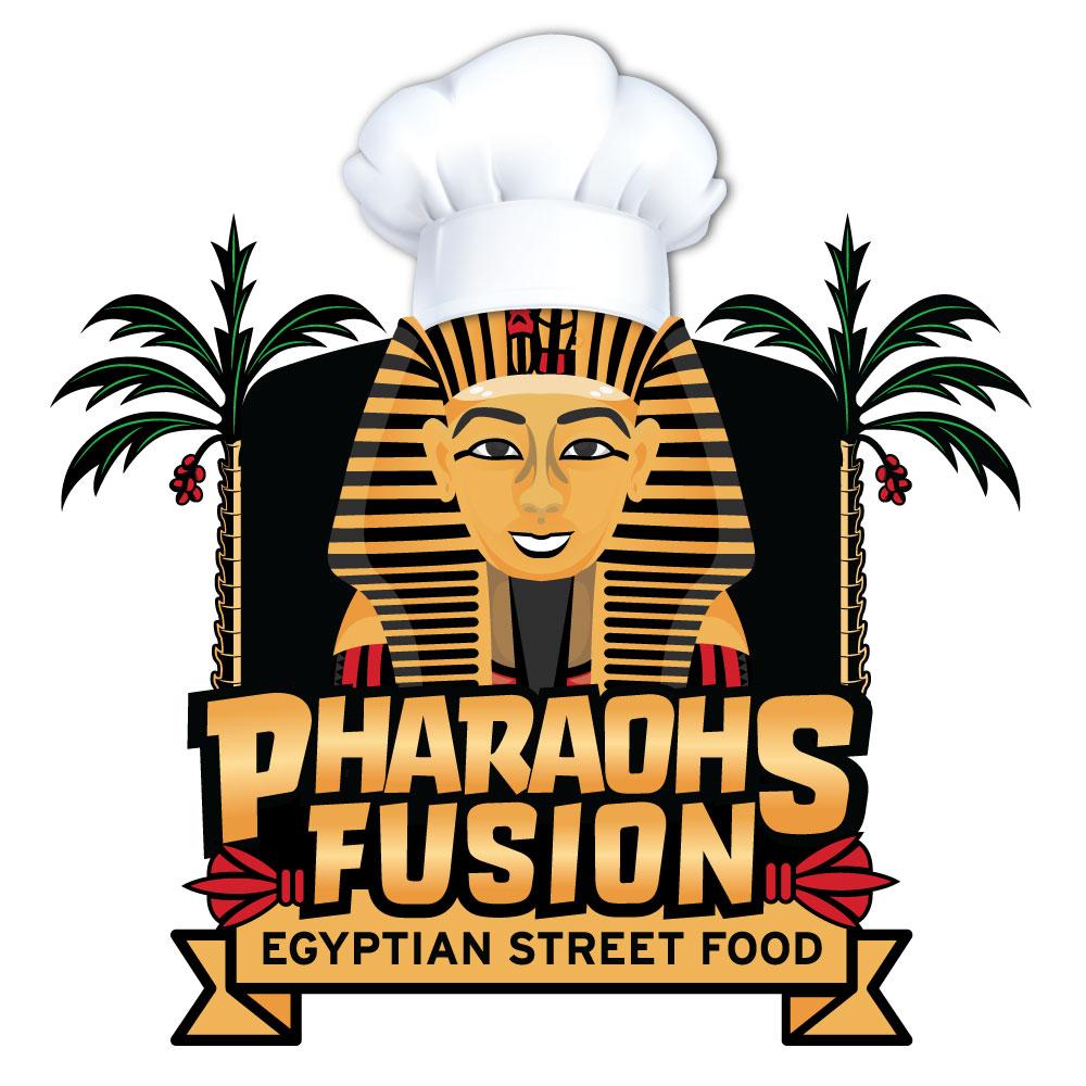 food truck logo design naples fl pharaohs fusion