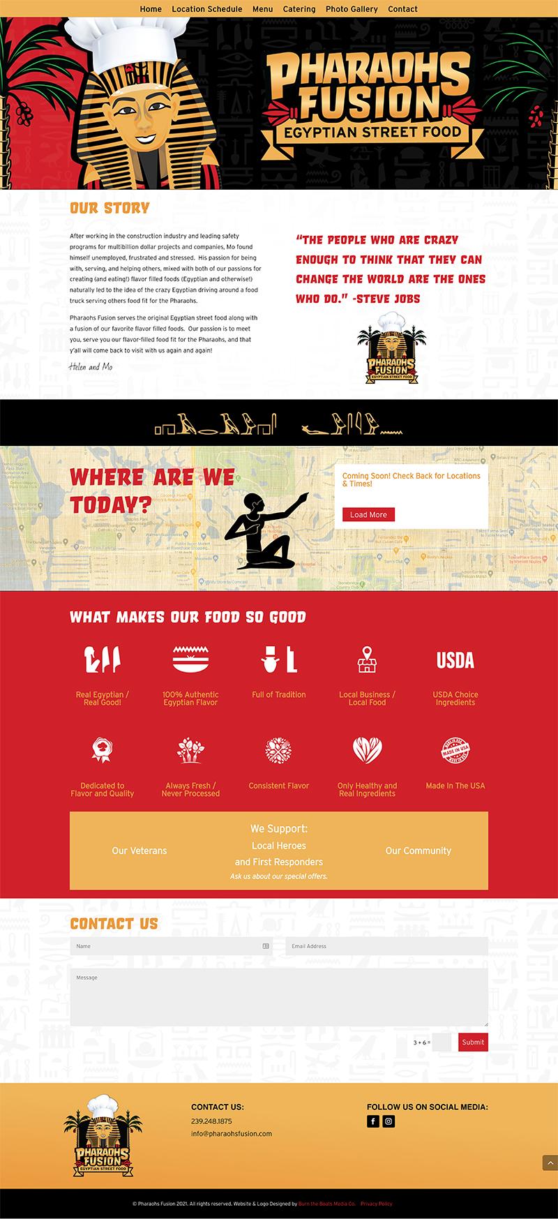 food truck website design naples fl